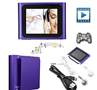 Jogador - MP3/MP4 LCD - 32GB