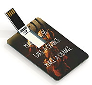 16GB Wish Chance and Change Design Card USB Flash Drive