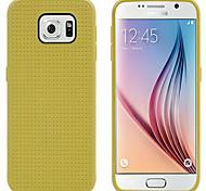 The Latest Model Samsung Galaxy S6 Silicone Phone Shell (Yellow)