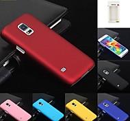 kemile nueva piel protectora de plástico caja del teléfono de la contraportada dura para el mini samsung galaxy s5
