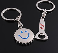 Unisex Alloy Keychain Creative Valentine's Day Key Chains 1 Pair