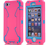 Robot Silicone Back Cover for iPhone 5S (Assorted Colors)