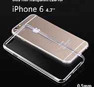 4.7inch Ultra Thin Soft TPU Gel Transparent Case for iphone 6 (Assorted Color)