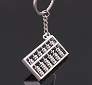 Unisex Fashion Alloy Key Chain Abacus Key Chain