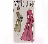 Fashion Woman Pattern Case for iPhone 6