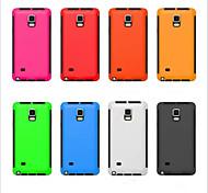 Zwei-in-one ultra dünn Ganzkörper Fällen wieder für Samsung-Galaxieanmerkung decken 4 (farblich sortiert)
