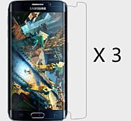 (3 Stück) High-Definition-Display-Schutz für Samsung-Galaxie s6 Rand