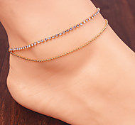 Fashion Temperament Pure Chain Anklets