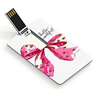 8gb inferno unidade flash card usb projeto bonito e arco nó