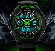 Men's Fashion Mountaineering Multifunction Waterproofing Grade Crash Pad Wrist Watch (Assorted Colors)