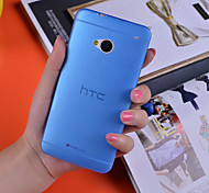 Ultrathin 0.3mm Colorful Scrub PP Case for HTC One M7 (Assorted Color)