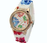 Mulheres Relógio de Moda Banda Relógio de Pulso