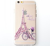 iPhone 6 compatible Eiffel Tower Back Cover
