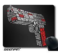 SEENPIN Personalized Mouse Pads Gun Design