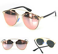 100% UV400 Women's  Mirrored Fashion Sunglasses