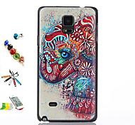 shell colore elefante materiale modello pc e penna di tocco di polvere staffa connettore per Samsung Galaxy Note 4