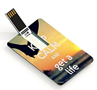 4GB Keep Calm and Get A Life Design Card USB Flash Drive