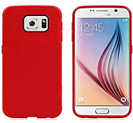 The Latest Model Samsung Galaxy S6 Silicone Phone Shell (Red)