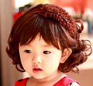 schöne Kinder lockige Perücke Studio gewidmet Sonder 1-4 Jahre altes Kind
