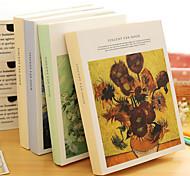 Van Gagh Pattern Sketch Book Hardcover Notebook