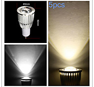 5pcs MORSEN® 9W GU10 700-750LM Support Dimamble Cob Led Spot Light Lamp Bulb