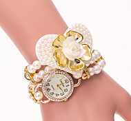 Women's Dial Case Pearl Watch Brand Fashion Quartz Watch(More Color Available)