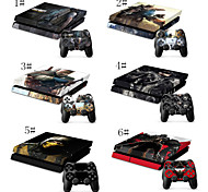 Cartoon Characters Designs Vinly Skin Sticker for PS4 & 2 Controller Skins PS4 Stickers