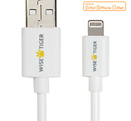 Apple Lightning Port Data Cable with MFI Certification for iphone6/5/5s/ipad4/5iPadmini