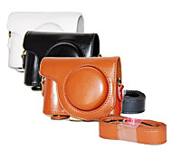 Dengpin PU Leather Oil Skin Detachable Camera Cover Case Bag for Casio ex-zr3500 (Assorted Colors)