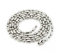 Titanium Steel Necklace Chain Necklaces Wedding/Party/Daily/Casual/Sports