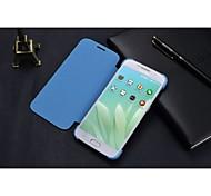 cuir et pc téléphone mobile cas mobile cas proetction coque pour Samsung Galaxy S6