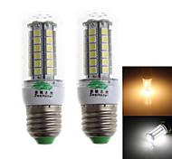 Zweihnder QR-E27-48 E27 65W 450lm 3000/6000K 48 x 5050 SMD Cool/Warm White Corn Light  (AC 220-240V,2Pcs)