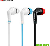 Langsdom JD88  Drive-By-Wire Metal Earphone In-Ear Headphones with Mic Volume Control Noise-Isolating Headset