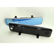 """Car Camera Rearview Mirror Auto DVRS Cars DVR with  4.3"""" Full HD 1080P and 170 Degree"""