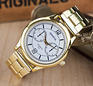 Women's Watches The New Parallel Two Quartz Watch Men And Women with Paragraph Fashion Belt Watches