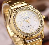 женская мода алмаз мраморный зеркало кварца стальной ленты браслет часы