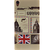Vintage Postcards TPU IMD Soft Cover for Sony Sony Xperia Z3