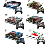 The Last of US Full Body Decal Skin Sticker for Playstation 4 PS4 Console+ 2 Free Controllers Skins
