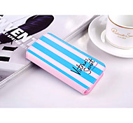Fashion PU Leather Double Vertical Mixed Color Can Insert Card Design for iPhone 5/5S (Assorted Colors)