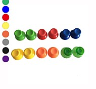 6 x Colorful Analog Stick Cap Replacement for Microsoft Xbox 360 Controller