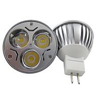 Faretti 3 LED ad alta intesità MR16 GU5.3 6 W 400 LM Bianco caldo/Luce fredda 1 pezzo DC 12/AC 12 V