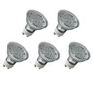 LOHAS Lâmpada de Foco GU10 1.5 W 135LM LM K Azul 21 LED Dip 5 pçs AC 220-240 V