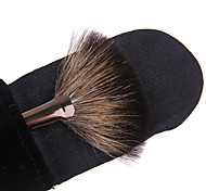 Lashining Fan Brush Makeup Face Brush Gift One Black Flannelette