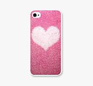 Крышка случая снег любовь шаблон PC Phone назад для iphone5c