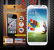 beschermende hd screen protector voor de Samsung Galaxy S5 mini (10 stuks)