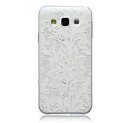 Feuerwerk Muster slim TPU Material weich Telefonkasten für Samsung-Galaxie-e5