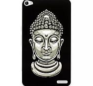 шаблон боги окрашены шт жесткий обложка чехол для Huawei Honor x2
