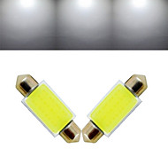 2 pcs Ding Yao Double tip 12X 3W 100-200LM 6000-6500K Cool White Decoration Light DC 12V
