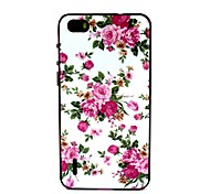 Chinese Rose Pattern TPU + PC Side Combo Phone Case For Huawei Honor 6