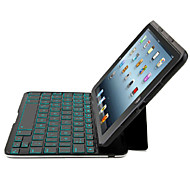 DGZ Ultra-Slim Bluetooth Wireless Aluminum Keyboard Cover for iPad  air  Keyboard have 6 color back light